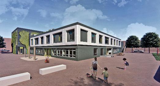 Zo gaat de nieuwe school er uit zien